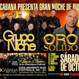 Image for Grupo Niche y Oro Solido  -  Noche de Rumba @ COCOCABANA