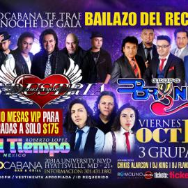 Image for Bryndis, Industria Del Amor, & Grupo El Tiempo   3 Grupazos una Sola Tarima una Misma Noche!!