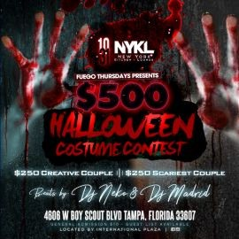 Image for Fuego Halloween Party