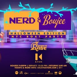 Image for Nerd & Boujee NYC Boat Party Yacht Cruise Halloween Friday