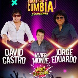 Image for Gigantes de La Cumbia | David Castro | Jorge Eduardo | Javier Monje @The Palace