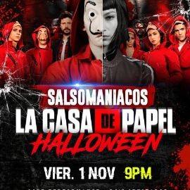 """Image for SALSOMANIACOS HALLOWEEN """"LA CASA DE PAPEL"""""""