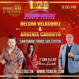 Image for Nelson Velasquez, Argenis Carruyo y Diana Landa en Naples