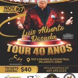 Image for LUIS ALBERTO POSADA 40 AÑOS TOUR