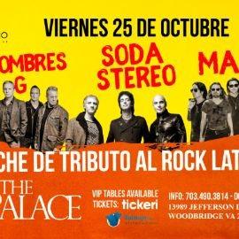 Image for Noche de Tributo al Rock Latino: Mana, Soda Stereo, Hombres G en Woodbridge,VA