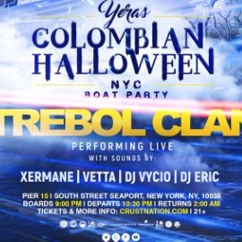 Image for YERAS Colombian Halloween w/ TREBOL CLAN NYC Boat Party Yacht Cruise