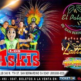 Image for Los Askis & Sabor Latino en San Bernardino,CA