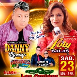 Image for Danny Mendoza & Loly Salas En Concierto En Bakersfield,CA