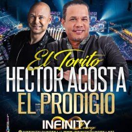 """Image for HECTOR ACOSTA """"EL TORITO"""" Y EL PRODIGIO EN INFINITY LOUNGE DE TRENTON, NJ"""