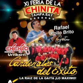 Image for Feria de La Chinita Tampa Bay 2019 Cardenales del Éxito y El Pollo Brito