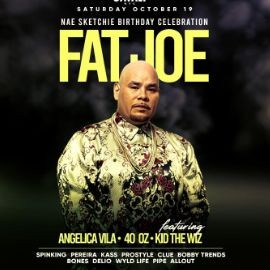 Image for Nae Sketchie Birthday Bash Fat Joe Live With DJ Prostyle DJ Clue and DJ Bobby Trends At Cavali New York