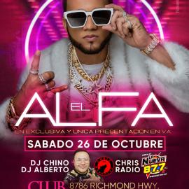 Image for El Alfa en Virginia- NEW CONFIRMED DATE