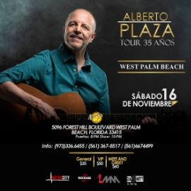 Image for Alberto Plaza en Concierto West Palm Beach
