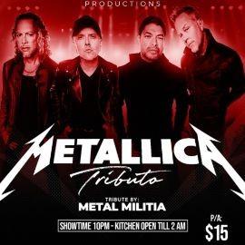 Image for Tributo a Metallica By Metal Militia En Newark,NJ