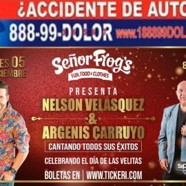 Image for Nelson Velasquez & Argenis Carruyo en Senor Frogs