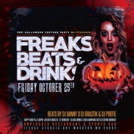 Image for FREAKS, BEATS & DRINKS PARTY @ UNPLUGGED