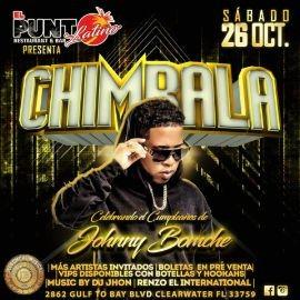 Image for Chimbala En Vivo @ El Punto Latino (Clearwater, FL)