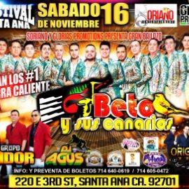 Image for Beto Y Sus Canarios En El Festival Santa Ana,CA