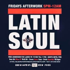 Image for Latin Soul AfterWork Fridays