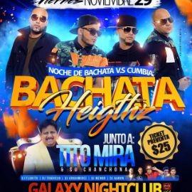 Image for Noche De Bachata Vs Cumbia Bachata Heigthz y Tito Mira En Hyattsville,MD