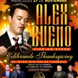 Image for ALEX BUENO PRE-THANKSGIVING PARTY