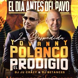 Image for Yovanny Polanco & El Prodigio en Mamajuana Cafe Queens
