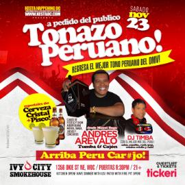 Image for Tonazo Peruano con Tumba y Cajon! Clases de Festejo y mas!