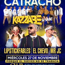 Image for Gran Reventon Catracho con Kazzabe, El Chevo, Mr Jc y Lipstickfables en Vivo!
