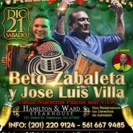Image for Beto Zabaleta y Jose Luis Villa-CANCELADO