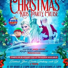 Image for Christmas Kids Party Cruise (12:00pm-2:30pm)