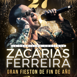 Image for Gran Fieston de fin de Año con Zacarias Ferreira!