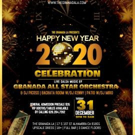 Image for New Years Eve Celebration - Salsa & Bachata Nightclub