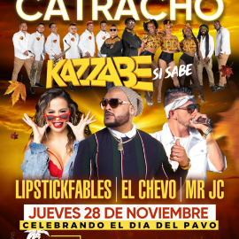 Image for Gran Reventon Catracho con Kazzabe, El Chevo, Mr JC y Lipstickfables