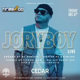 Image for Jory Boy Live in Clearwater