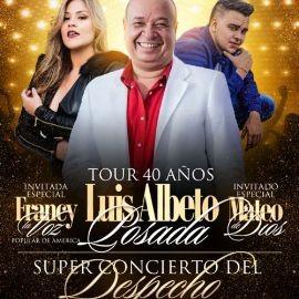 Image for Concierto del Despecho con Luis Alberto Posada • Francy & Mateo de Dios En Queens New York. NY