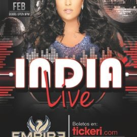 Image for India Live At Empire Lounge