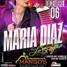 Image for Maria Diaz 'La Reina' en Concierto!