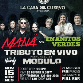 Image for MANA VS ENANITOS VERDES EN VIVO CON MODULO