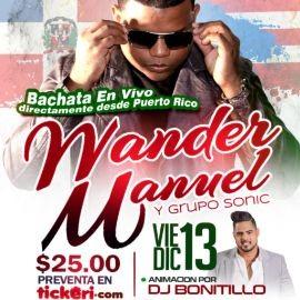 Image for Wander Manuel Y Su Bachata En Vivo