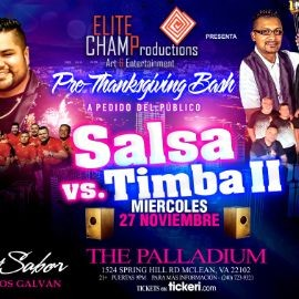 Image for Salsa VS Timba II