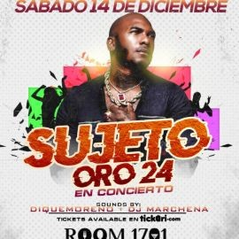 Image for Sujeto Oro 24 Live en Tampa