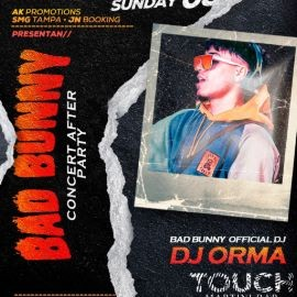 Image for Bad bunny concert after party With his official Dj Dj orma