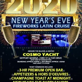 Image for New Year's Eve Fireworks Latin Cruise - Cosmo Yacht