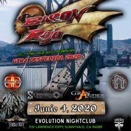 Image for Baron Rojo Ultima Vez En La Bahia Gira Despedida 2020