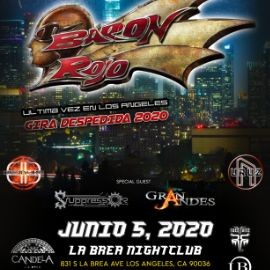 Image for Baron Rojo Ultima Vez En Los Angeles Gira Despedida 2020