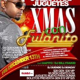 Image for Xmas con Fulanito (COLECTA DE JUGETES)