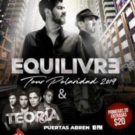 Image for Tour Polaridad 2019 Con Equilivre & Teoria Q En Jackson Heights,NY