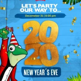 Image for NEW YEAR'S EVE AT SR. FROG'S ORLANDO