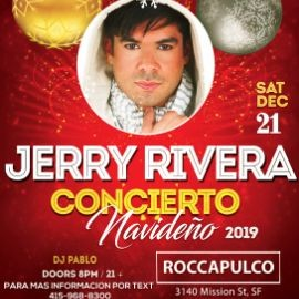 Image for Jerry Rivera Concierto Navideño En San Francisco,CA
