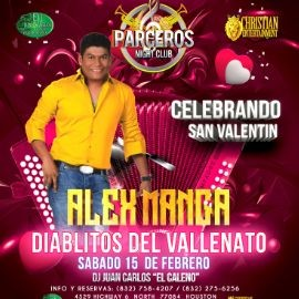 Image for ALEX MANGA LOS DIABLITOS DEL VALLENATO